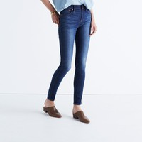 "9"" High-Rise Skinny Jeans in Polly Wash : 