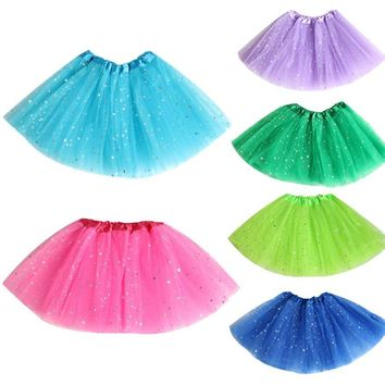 Girls Lace Skirts Pure Cotton  Robe Fille Enfant Tutu Skirt Kids Clothes Solid Children Pettiskirt