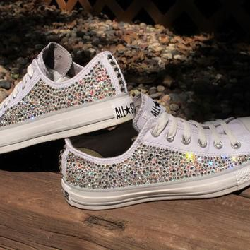 swarovski crystal converse all stars not including the shoes read description