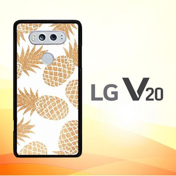 Gold Pineapple E1460 LG V20 Case