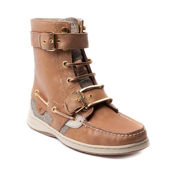 Womens Sperry Top-Sider Huntley Boot, Tan, at Journeys Shoes