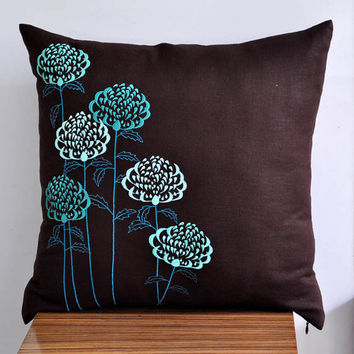 Waratah Flower Throw Pillow Cover 18 x 18 Decorative by Kainkain