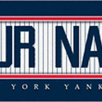 Baseball-MLB Jersey Stitch Print New York Yankees Personalize for YOU!