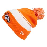 Men's New Era Cap 'NFL - Denver Broncos' Pom Knit Cap