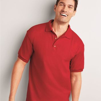 5 Pack 100% Cotton Gildan Polo Shirts