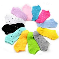 6pairs New Brand Girl Female Lady Socks Sport Women's Socks Cute Socks Bamboo Women's Socks Ok Cotton Opp Bag No Retail Tag