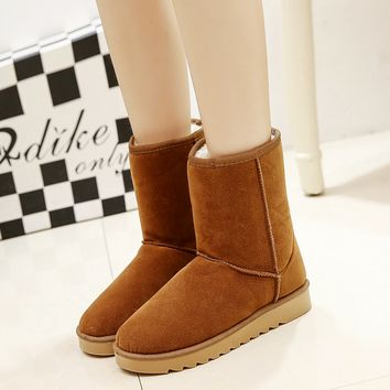 Hot Fashion Womens Ladie Winter Warm Snow Boots Shoes