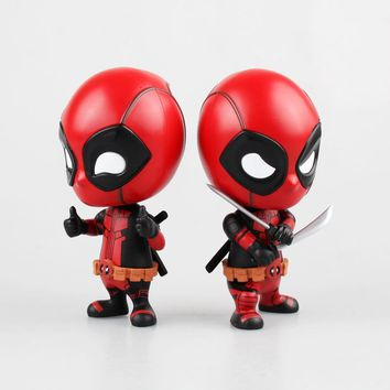 Deadpool Dead pool Taco  Action Figure 5 Styles  Bobblehead Combat Edition Model Car Decoration Figurine Kids Toys Gifts 10cm AT_70_6