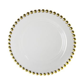 11L x 1H Belmont Gold Dinner Plate/Case Of 12