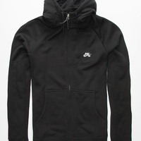 Nike Sb Everett Graphic Hoodie Black  In Sizes