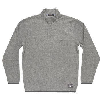 Eagle Trail Pullover in Midnight Gray and White by Southern Marsh