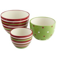 Holiday Prep Bowl Set