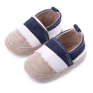 Infant First Walkers Toddler Sneakers Baby Boy Girl Soft Sole Non-Slip Crib Shoes to 0-12M