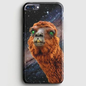 LlamaS Green Nebula Encounter iPhone 8 Plus Case | casescraft