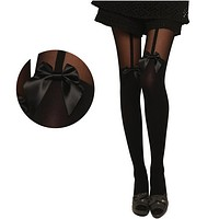 Fashion Womens Lady Girls Black Sexy Fishnet Pattern Jacquard Stockings Pantyhose Tights Styles Woman 1pcs dww02