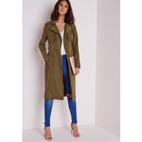 Belted Trench Coat - Coats and Jackets - Missguided