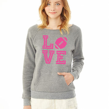 L (Football) V E ladies sweatshirt