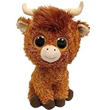 TY Beanie Boos 15cm Scottish Highland Cow Dog Olw Dange Alpaca Dragon Plush Toys Big Eyes Eyed Stuffed Animal Soft Toy Kids Gift