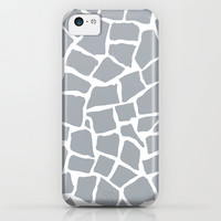 Mosaic Zoom Grey iPhone & iPod Case by Project M
