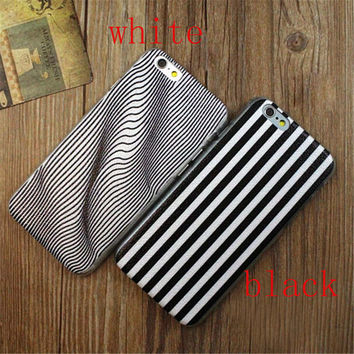 Twisted Stripes Print iPhone 5/5S/6/6S/6 Plus/6S Plus Case Gift Very Light Case-28