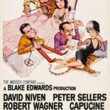 "The Pink Panther Poster Movie Poster Insert 14""X36"""