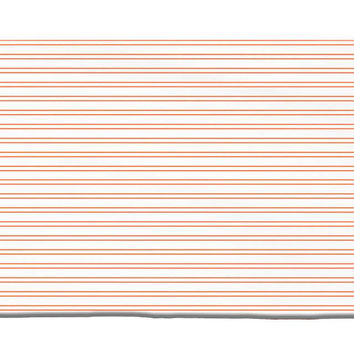 Horizontal Stripes Pattern Plush Rug