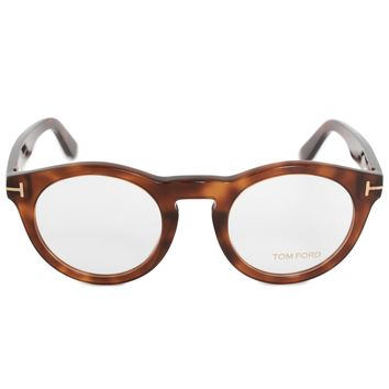 Tom Ford FT5459 053 50 Round | Blonde Havana | Eyeglass Frames