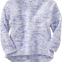Old Navy Button Back Marled Sweaters For Baby