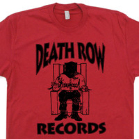 Death Row Records T Shirt NWA Straight Outta Compton T Shirt