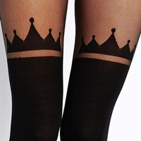 ASOS Crown Over The Knee Tights