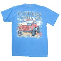 Beach Cruisin' Tee Shirt in Royal Caribbean by Southern Fried Cotton