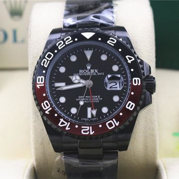 cc hcxx Gmt master II Red and black