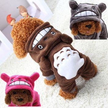 Winter Pet Clothes for Dog Coats Cosplay Clothing for Dog Costume for Hoodie Pet Clothes Cartoon Totoro Costumes for Puppy 30
