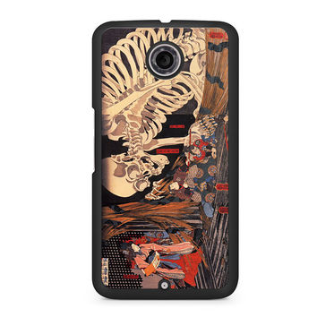 The Witch And The Skeleton Spectre Nexus 6 case