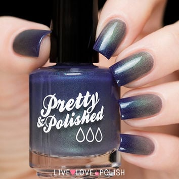Pretty & Polished Suspended In Dusk Nail Polish