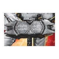 Medieval knight - Management Made Easy Canvas Print