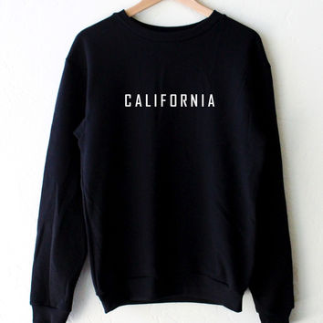 California Oversized Sweater - Black