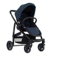 Graco Evo Stroller - Navy A fully washable foot muff and seat liner, Lightweight and compact
