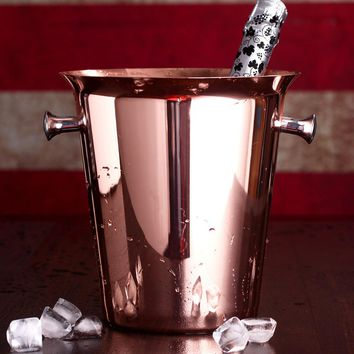 Rose gold Ice Buckets wine ice bucket 5L Ice Bucket Stainless Steel Wine Bottle Cooler Champagne Beer Chiller Ice Barrel