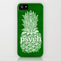 Psych Pineapple! iPhone & iPod Case by Alohalani