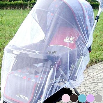 Baby Stroller Pushchair Mosquito Net Netting Cover Accessories