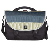 Cool Blue Taupe Color Pallet Quilted Commuter Bags