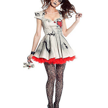 Adult Voodoo Doll Costume - Spirithalloween.com