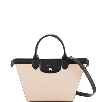 Longchamp Le Pliage Heritage Colorblock Shoulder Bag, Multi