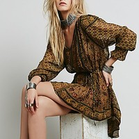 Free People Womens Crosstown Patterns Tunic