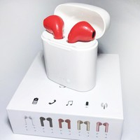 Hot Sale Bluetooth Headphones Wireless Earbuds Stereo Earphone Cordless Sport Headsets for Iphone AirPods iphone 8, 8 plus, X, 7, 7 plus, 6s, 6S Plus with Charging Case
