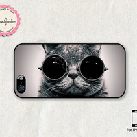 iPhone 5 Case, iPhone 5s Case, iPhone Case, iPhone Hard Case, iPhone 5 Cover, iPhone 5s Cover, Cute Cat