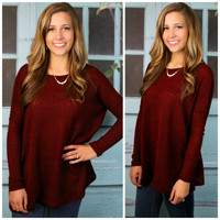 Cambridge Wine Piko Sweater