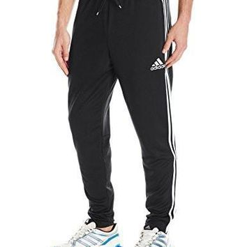 auguau adidas Performance Men's Tiro Training Pant, Medium, Black/White/Black