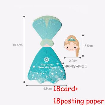 Cool 36 Pcs/set Frozen Queen Candy Paper Lollipop Decoration Card Supplies Kid Birthday Party DIY Candy Gift AccessoriesAT_93_12